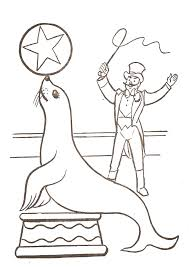coloriage cirque 5 circus coloring pages coloring for kids