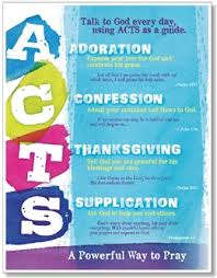 acts powerful prayer bulletin board poster set