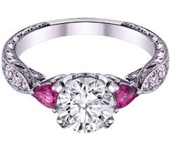 rings pink stones images Pink sapphire engagement rings from mdc diamonds nyc jpg