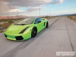 Lamborghini Gallardo Green - insane speed heffner performance lamborghini gallardo tt