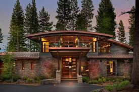Sagemodern by A Spectacular Modern Mountain Style Dwelling In Martis Camp 2015