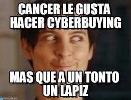 Spiderman Meme Cancer - lapiz cancer le gusta hacer cyberbuying on memegen