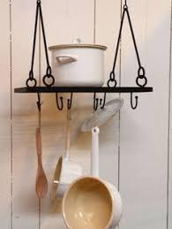 range ustensiles cuisine porte ustensiles de cuisine à suspendre métal noir 16 crochets