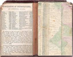 Map Of Philadelphia Pennsylvania by Pennsylvania In Early Pocket Maps
