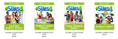 poll do you buy the game packs and stuff packs teh sims