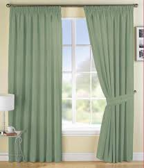 cheerful design ideas using grey loose curtains and rectangular fascinating design ideas using round white desk lamps and green loose curtains also with rectangular silver