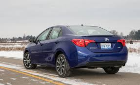 toyota corolla 2017 toyota corolla in depth model review car and driver
