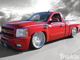 Red Lifted Chevy Silverado Truck - 2007 chevy silverado cloak u0026 dagger ls3 powered truckin