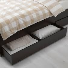 ikea kitchen cabinet storage bed hemnes underbed storage box set of 2 black brown king