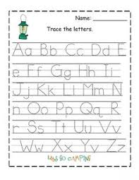 Pre K Letter Worksheets Pre K Alphabet Worksheets Printable Shishita Com