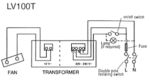 how to wire a bathroom extractor fan diagram with 12 volt light