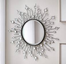 home decorators mirrors home decorators collection black 32 in x 32 in diamond mirror