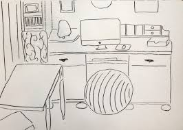 a little sketch of my studio skillshare projects
