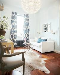 zebra rugs bungalow home staging redesign kalah blue fabric contemporary living room lonny magazine