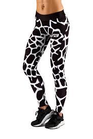 Giraffe Print Leggings Push Up Giraffe Legging Muscle Brand Shop