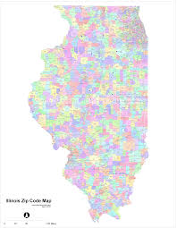 Zip Code By Map Illinois Zip Code Maps Free Illinois Zip Code Maps