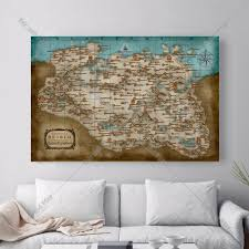Skyrim Home Decor by Online Buy Wholesale Skyrim Poster From China Skyrim Poster