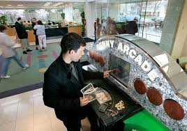 td bank arcade coin counting machines rip money