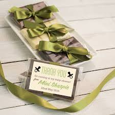 mini chocolate bar baby shower favour by quirky gift library