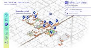 Chicago Marathon Map Depaul University Campus Maps U2013 Joe Mills