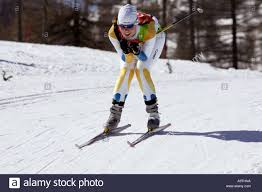 stina sellin of sweden competes in the womens cross country skiing