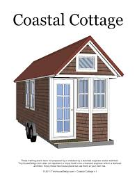 tiny house plans coastal cottage tiny diy home plans database