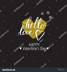 happy valentines day template design card stock vector 365015882