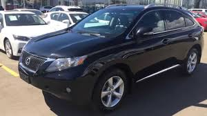 2012 lexus rx 350 for sale toronto pre owned black 2010 lexus rx 350 awd 4dr ultra premium package