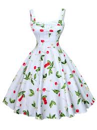 summer dresses plus size summer dresses flowers printed cotton swing straps midi
