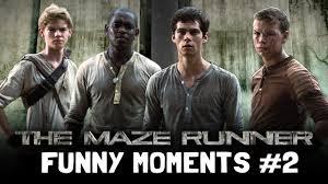 Maze Runner The Maze Runner Cast Moments Part 2