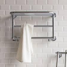 bathroom shelves uk burlington strand bathroom towel radiator with shelf uk bathrooms