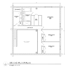 log house floor plans plans package 40x40 log home builders association