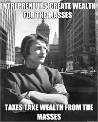 Ayn Rand Meme - ayn rand on poverty memes quickmeme