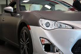 frs toyota black toyota of plano scion fr s matte black wrap car wrap city