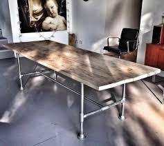 dining table with rivets sold beautiful tongariro oak and wakatipu