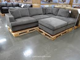 Small Leather Sofa With Chaise Furniture Costco Sectional Couch Small Leather Sectional