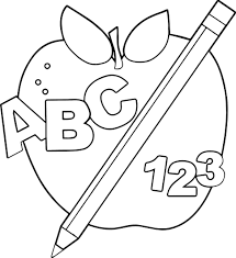 food apple pie coloring page picture of apple apple tree