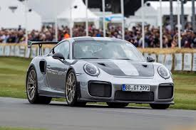 teal porsche 911 porsche 911 gt2 rs new video shows 690bhp sports car at goodwood