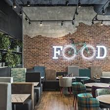 Cafe Interior Design Pizza Restaurant By In Arch 01 Eatery Pinterest