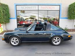 1974 used porsche 911 targa at schmitt imports serving carlsbad