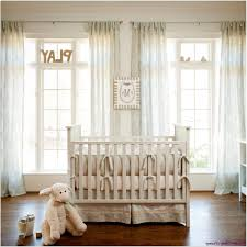 nursery room curtains white wooden archietrave round white pendant