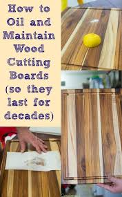 Tips To Clean Wood Kitchen by How To Oil And Clean Wood Cutting Boards Hometalk