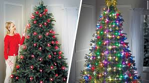 best way to hang christmas lights on tree tree dazzler christmas tree lights could spark a new decorating craze