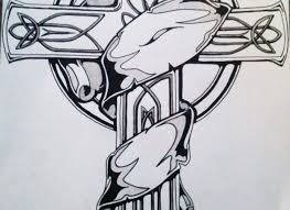 signs amazing cross banner tattoo design photo 3 amazing banner