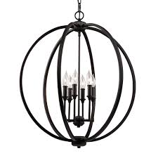 Murray Feiss Pendant Light Feiss F3061 6pn 6 Light Inlay Globe Pendant With