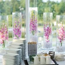 centre de table mariage pas cher vase mariage cylindrique 60cm centre de table original badaboum