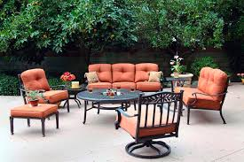 Charleston Patio Furniture by Cast Aluminum Patio Furniture Sets Manhattan Topeka Wamego