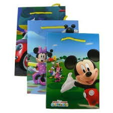mickey mouse gift bags disney character gift bags mickey mouse clubhouse