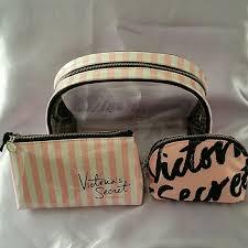 30 off victoria 39 s secret other victoria secret cosmetic bag trio bundle from latara 39