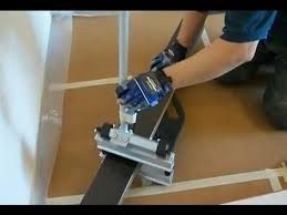 how to cut laminate flooring when you are installing laminate